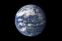 The earth from space...